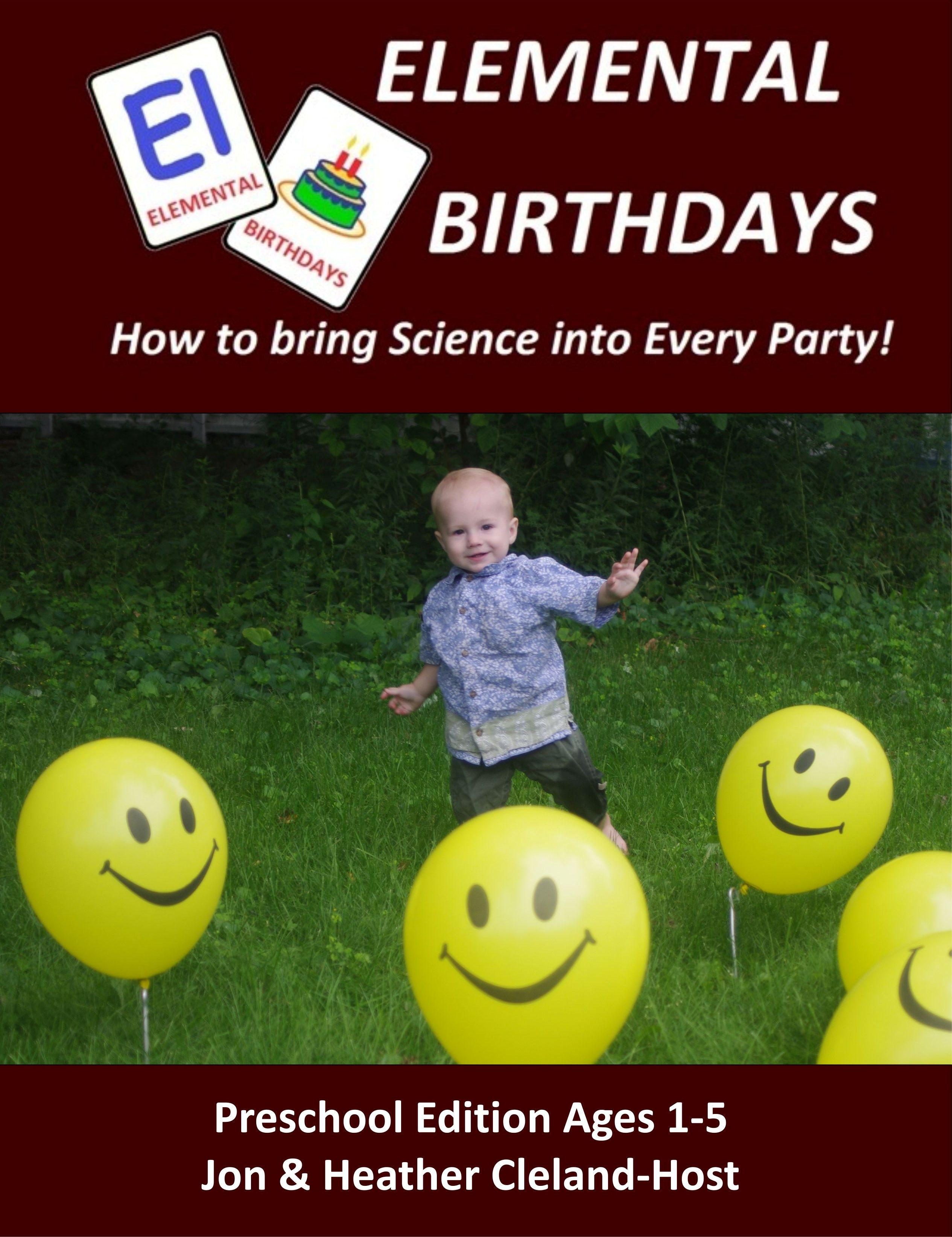 Preschool Edition of Elemental Birthdays